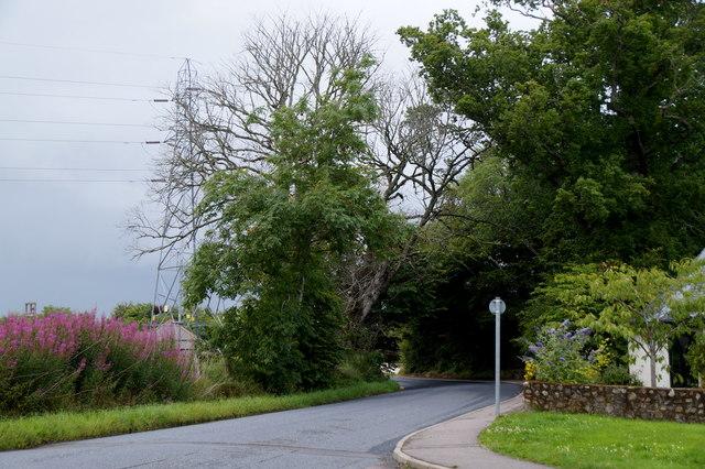 Entering Kirkhill