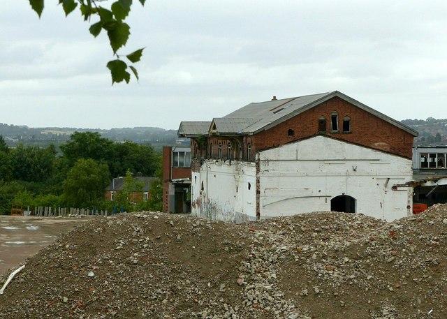 Former railway goods shed, Ilkeston
