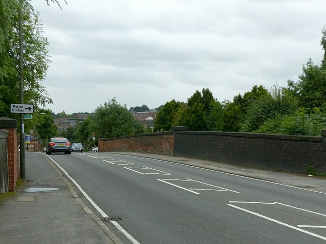 Heanor Road former railway bridge