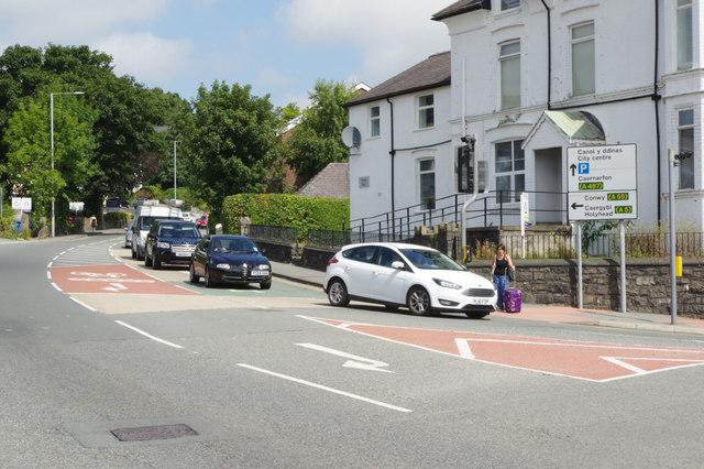 Holyhead Road, Bangor