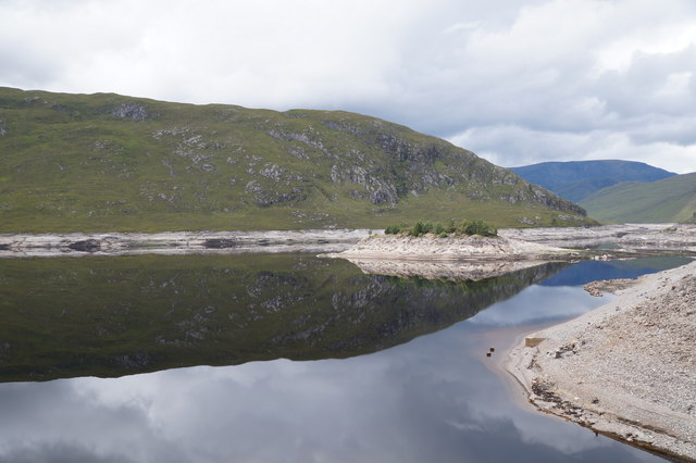 Loch Monar from the dam