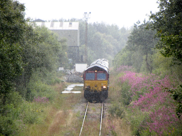 Railtour at Tower Colliery
