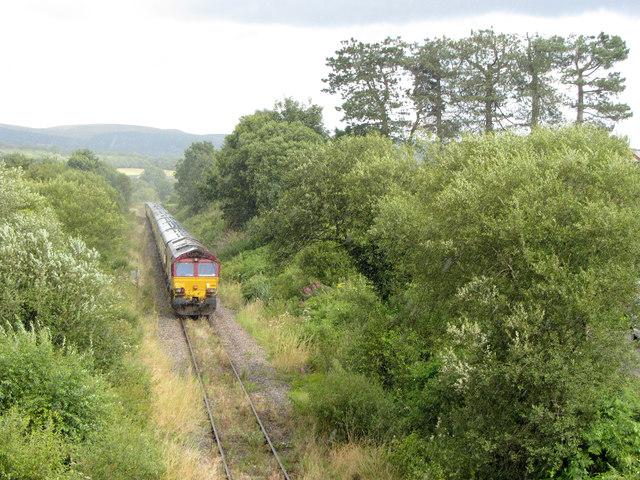 Railtour at Hirwaun