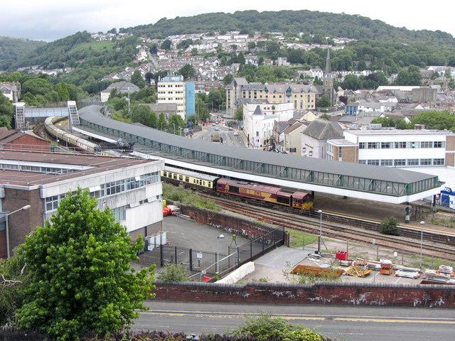 Railtour at Pontypridd
