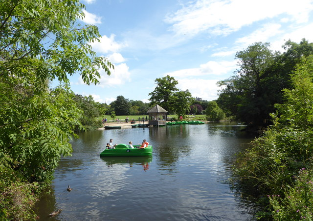 The Boating Lake, Dulwich Park