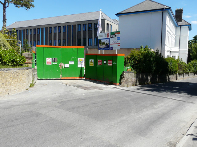Ongoing reconstruction of Portal House School, Sea Street
