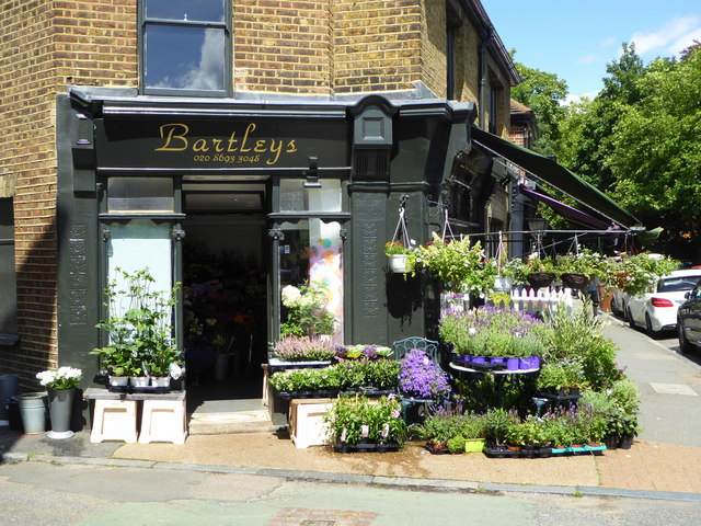 Bartley's Flowers Ltd., Dulwich Village