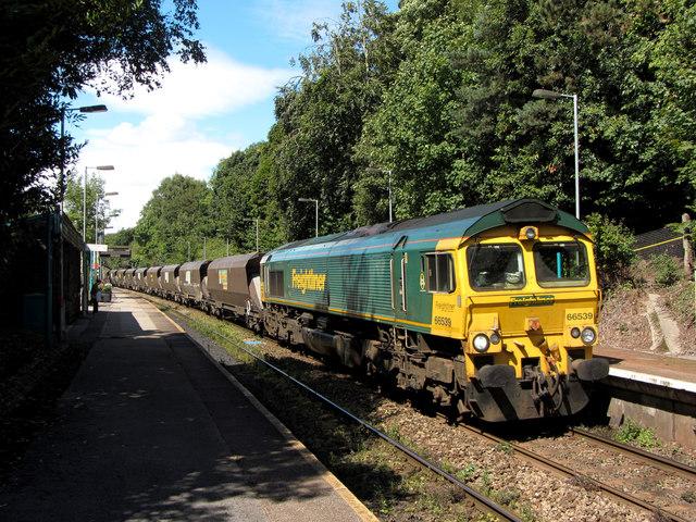 Coal train at Llanishen