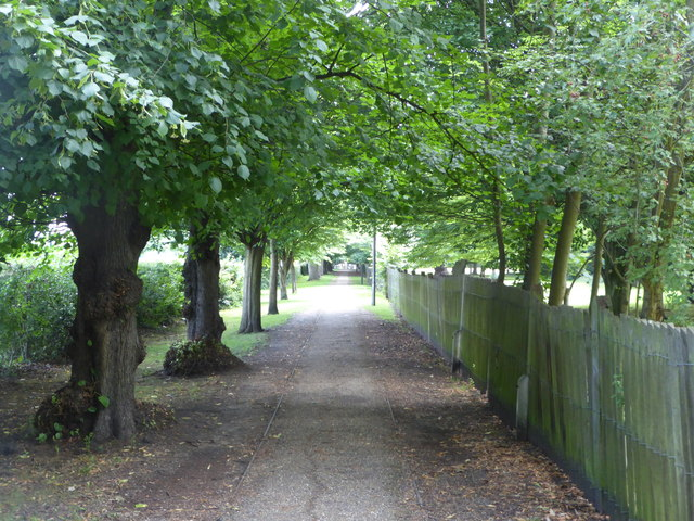 Lovers Walk, also known as Grove Walk, West Dulwich