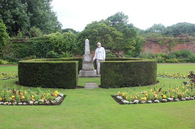 'Sir Briggs' Monument, Cedar Garden, Tredegar House
