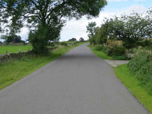 Drift Lane at the entrance to Redmires