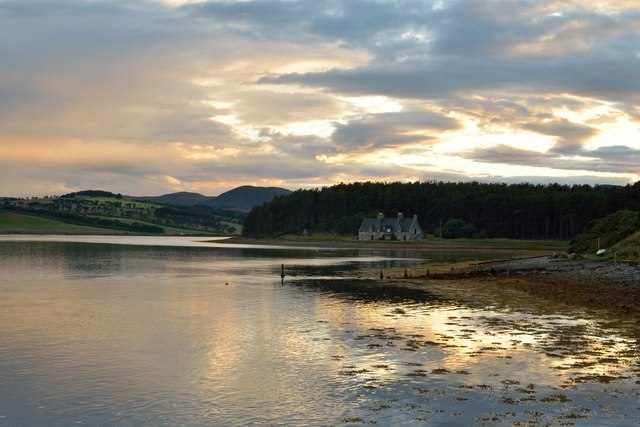 Evening at Littleferry, Sutherland