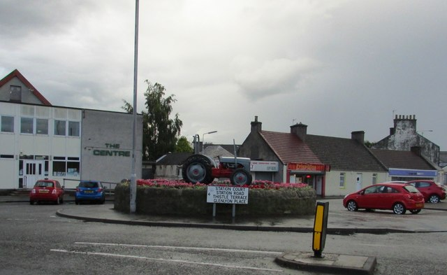 Old tractor, Leven