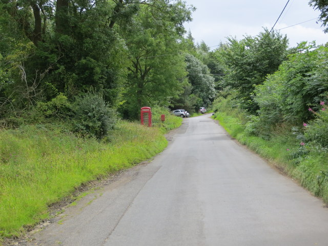 Road near Park House at Wathermarske