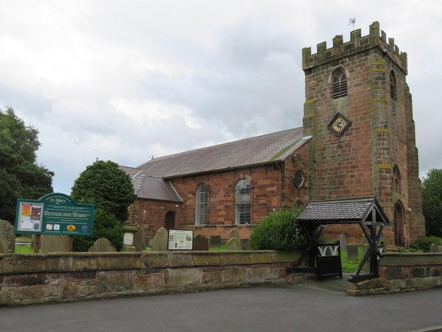 St Mary's Church, Hale Village