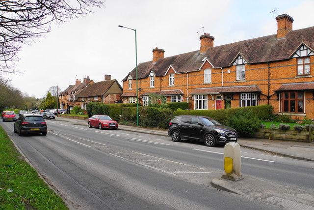 Houses on Warwick Road