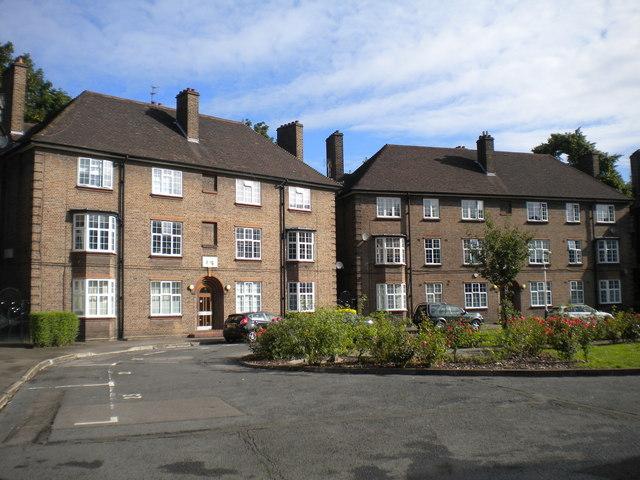 Flats on Claremont Close, Finsbury (2)