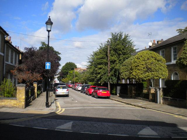 East end of Ripplevale Grove, Islington