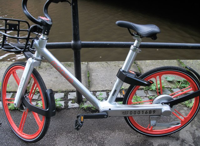 Manchester's Mobike