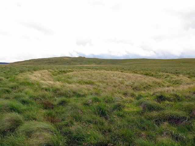 Ditched oval enclosure south of Lamb Hill Settlement