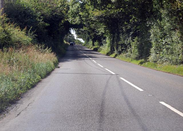A3124 runs past Summers Moor