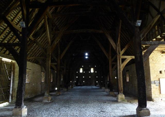 Bredon Tythe Barn interior
