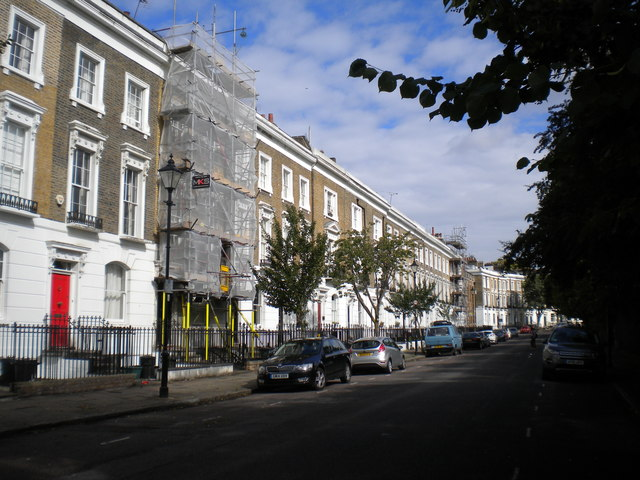 West side of Thornhill Square, Barnsbury