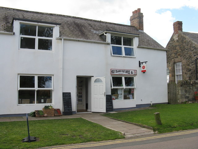 Holy Island Post Office & 1 Class Food