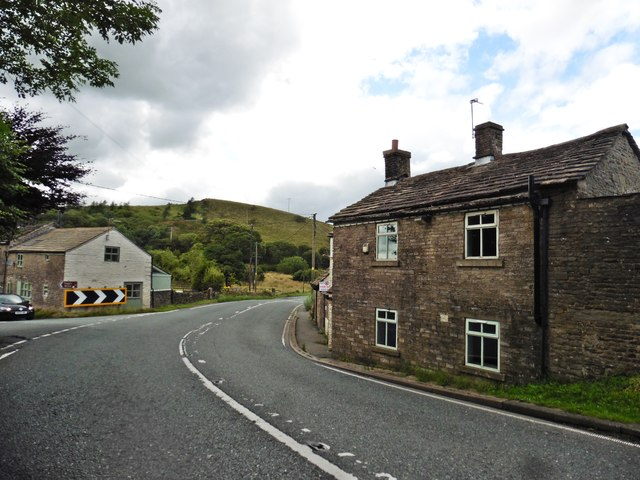 Turning for Buxton Old Road