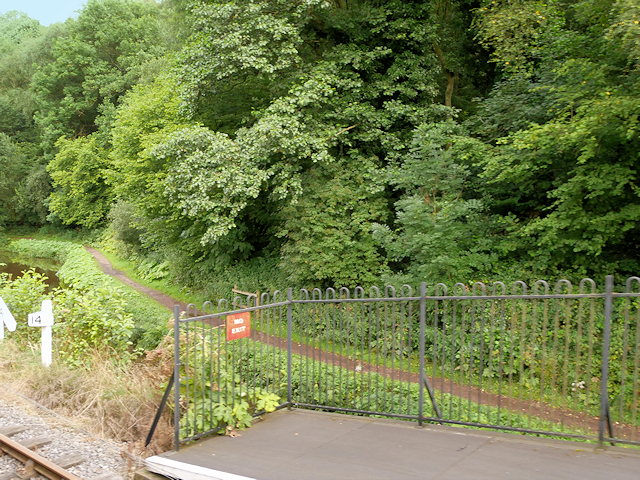 Caldon Canal Towpath at Consall Station