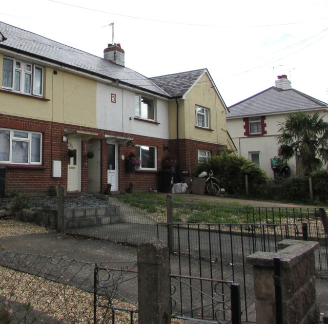 85-year-old houses, Streamers Meadows, Honiton