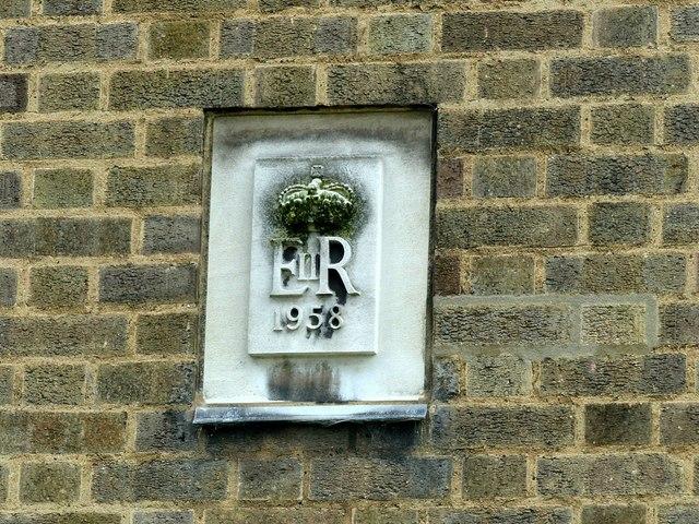 Telephone exchange, Queen's Drive, Ilkeston, datestone
