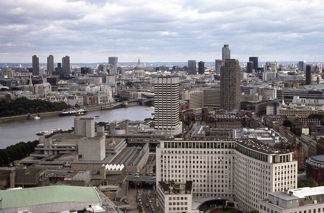 View to the north-east from the London Eye