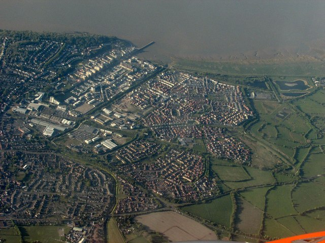 Portishead from the air