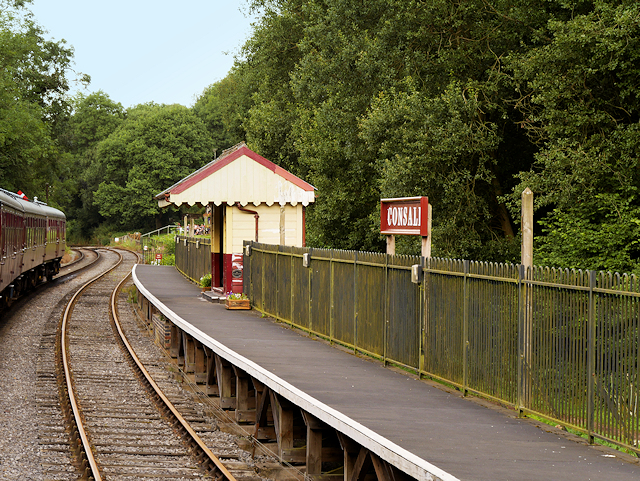 Churnet Valley Railway, Passenger Waiting Shelter at Consall Station