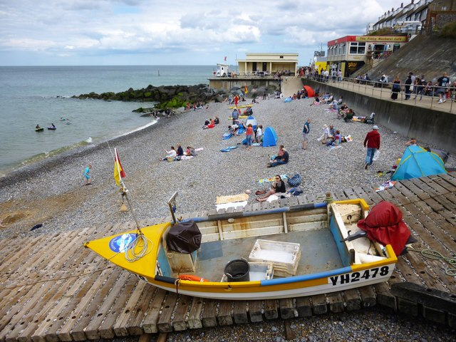 A summers day on Sheringham beach