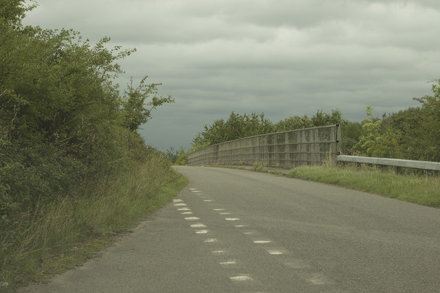 A bridge over the A50