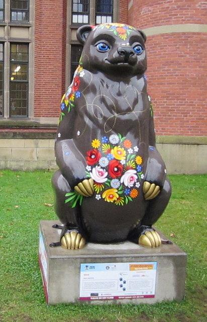 Birmingham Big Sleuth Rosie Bear University of Birmingham
