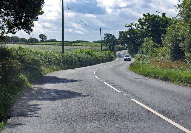 A3124 towards Coulson Cross