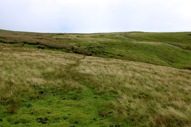 Bridleway on Pike Hill