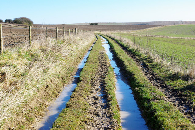 Byway towards Steyning