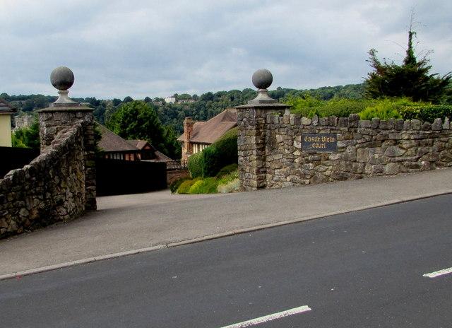 Entrance to Castle View Court, Tutshill