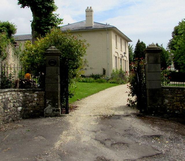 Grade II listed Tutshill Lodge, Tutshill