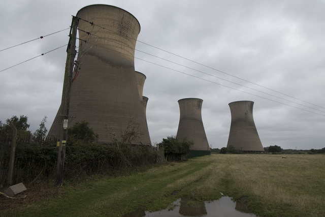 Defunct cooling towers