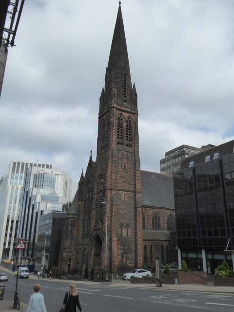 St Vincent Street and St Columba Church of Scotland