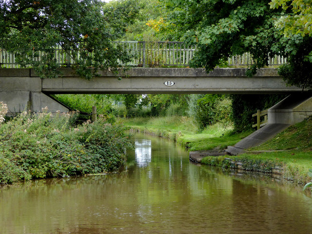 Wrenbury Heath Bridge in Cheshire