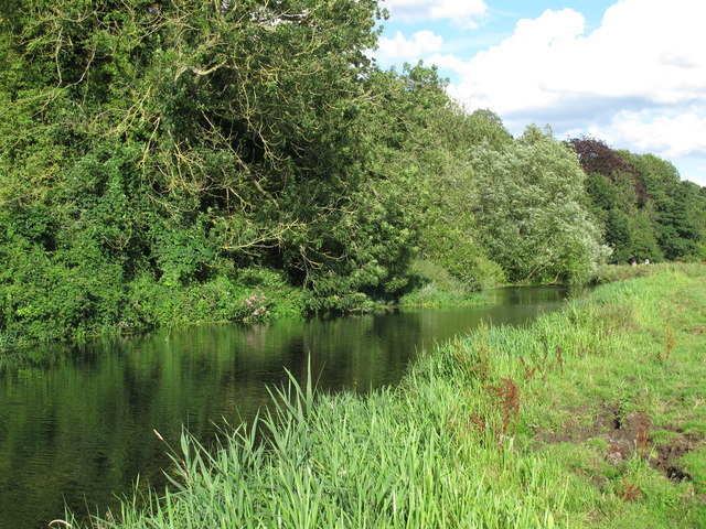 The Waveney at Outney Common, Bungay (1)