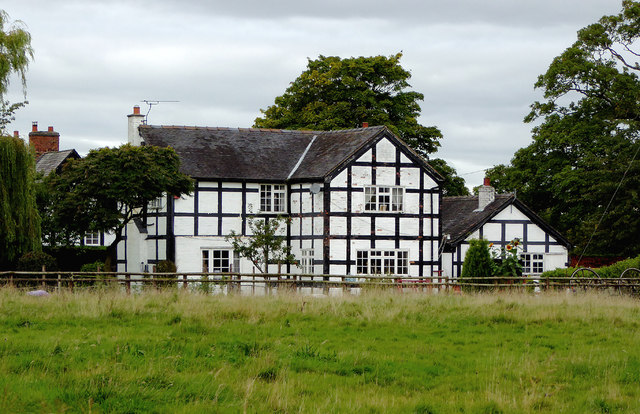 Farm house near Wrenbury Heath in Cheshire