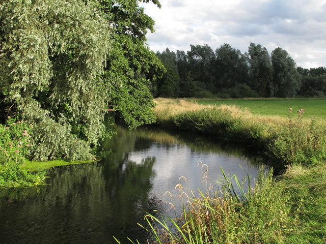 The Waveney at Outney Common, Bungay