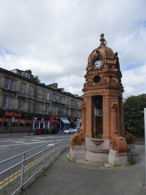 The Cameron memorial fountain
